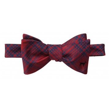 Black Lab Bow: Red